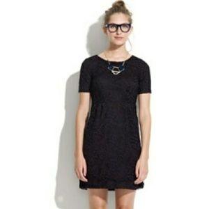 Madewell Broadway & Broome Lace Dress Black 0